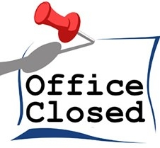 office closed image